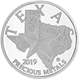 2019 Texas Silver Round with Custom Gift Box