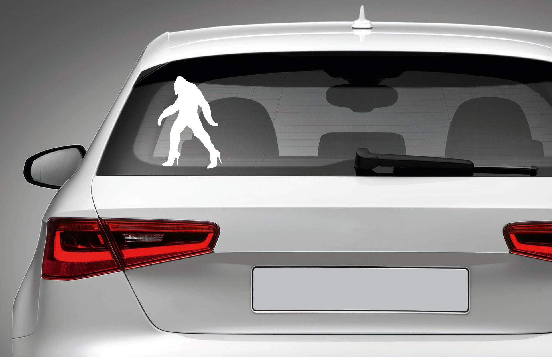 Sticker for Car Truck Bumper Window Wall Laptop BIGFOOT SASQUATCH Vinyl Decal