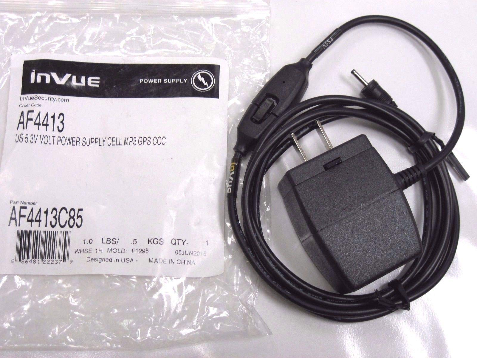 Brand New InVue US 5.3V Volt AF4413 Power Supply Cell MP3 GPS CCC Charger F1295
