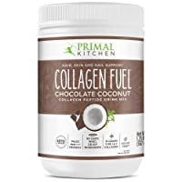 Primal Kitchen Collagen Fuel Protein Mix, Chocolate Coconut, Non-Dairy Coffee Creamer & Smoothie Booster- Supports Healthy Hair, Skin, and Nails, 20 Ounce
