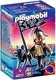 Playmobil 4810 - Guerrero Lobo Con Hacha