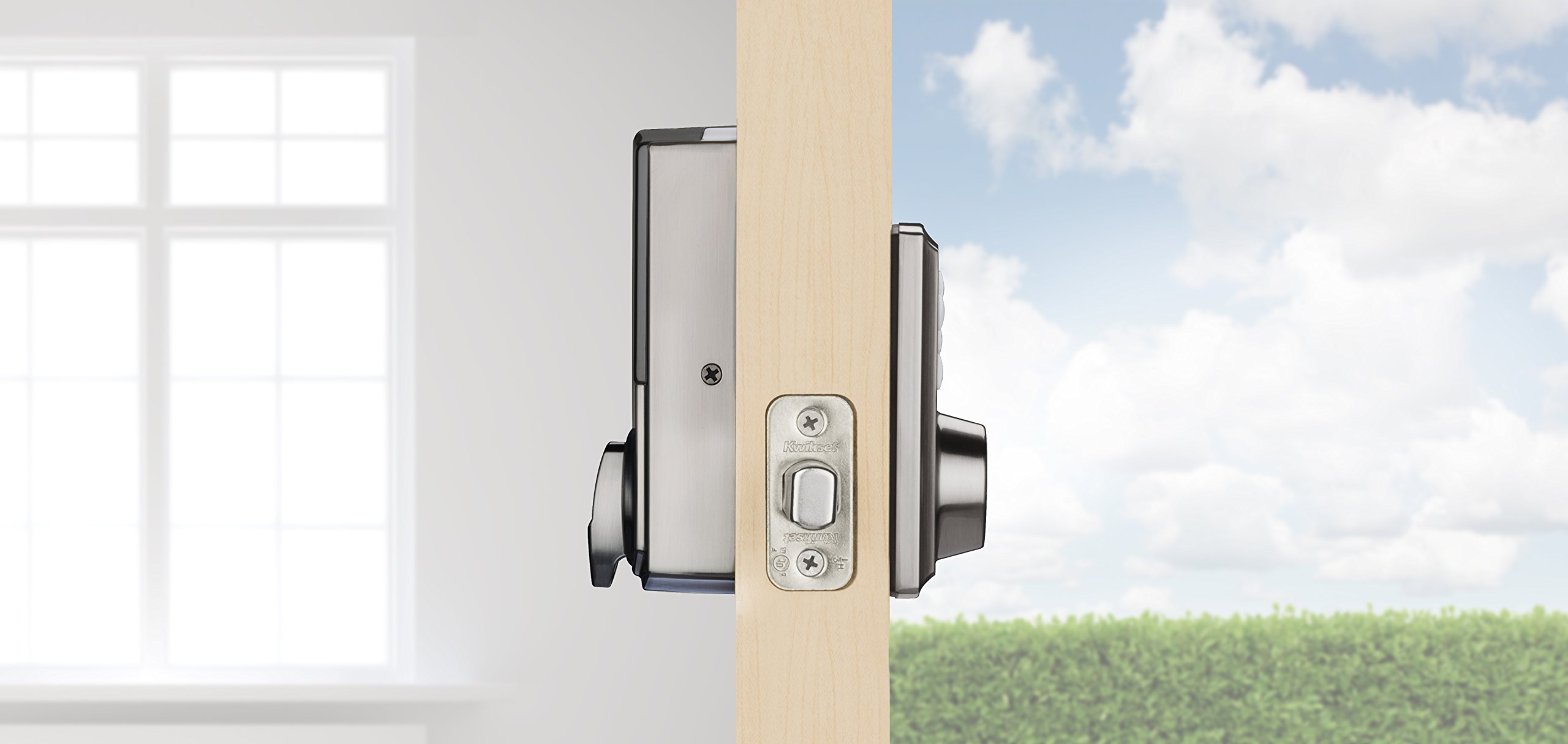 Kwikset 888ZW500-15S Smartcode 888 Electronic Deadbolt with Z-Wave Technology by Kwikset (Image #4)