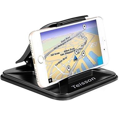 Soporte para teléfono móvil de coche Teisson antideslizante para salpicadero de coche teléfono móvil GPS soporte