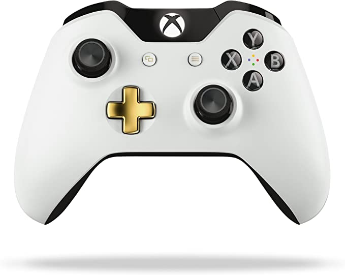 Xbox One Special Edition Lunar White Wireless Controller by Xbox ...
