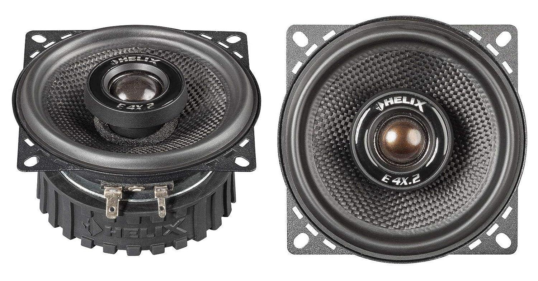 Helix E 4X.2 Altavoz Audio De 2 vías 120 W Alrededor - Altavoces para Coche (De 2 vías, 120 W, 40 W, 4 Ω, 89 dB, Neodimio)