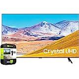 SAMSUNG UN65TU8000FXZA 65 inch 4K Ultra HD Smart LED TV 2020 Model Bundle with Support Extension