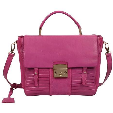 Ri2K Kingsland - Bolso estilo cartera para mujer Rosa rosa