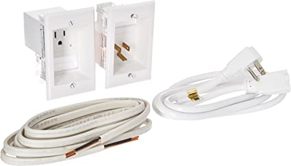 12 Romex Cable PowerBridge Solutions ONE-PRO-12 Single in-Wall Cable Management for Wall-Mounted TVs