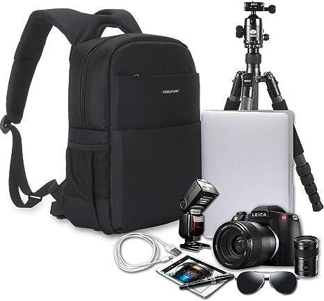 Travel Large Digital DSLR Camera Backpack Shoulder Bag Case For Canon Nikon UK