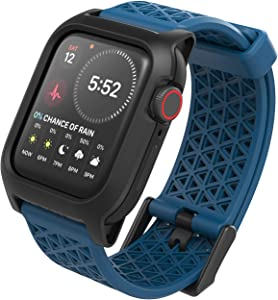 Catalyst Designed for Apple Watch Series SE/6/5/4/3/2/1, Sport Bands, 24mm Band Designed for Apple Watch 44mm 42mm, Breathable, Sports Wristband Replacement Band Without connectors - Blueridge/Sunset