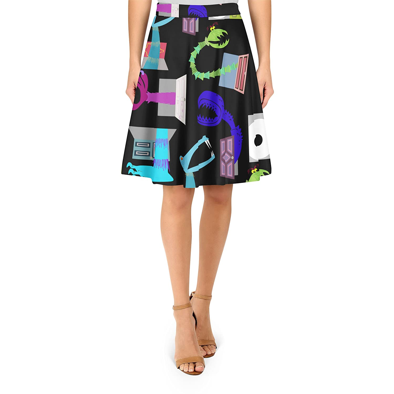 Monsters in Closets A-Line Skirt
