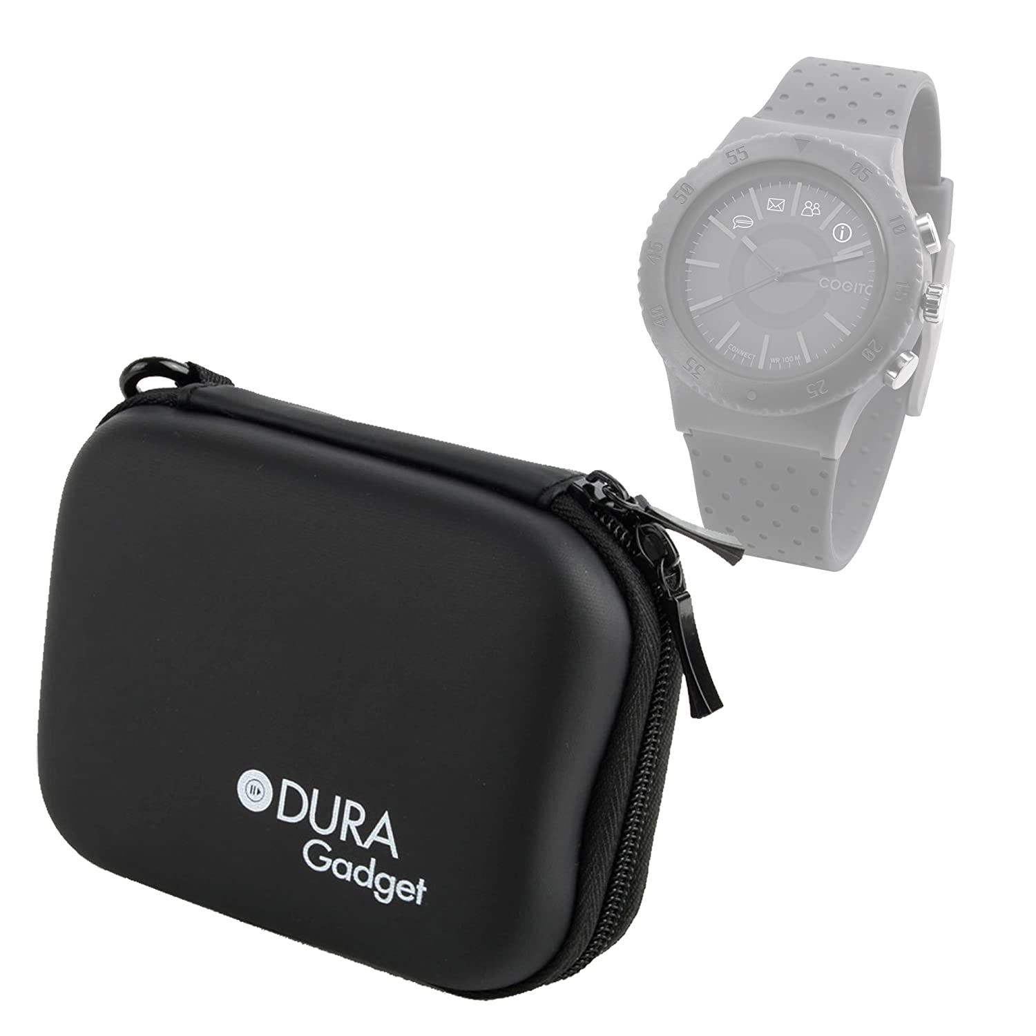 DURAGADGET Funda Rígida para Cogito Fit - Color Negro ...