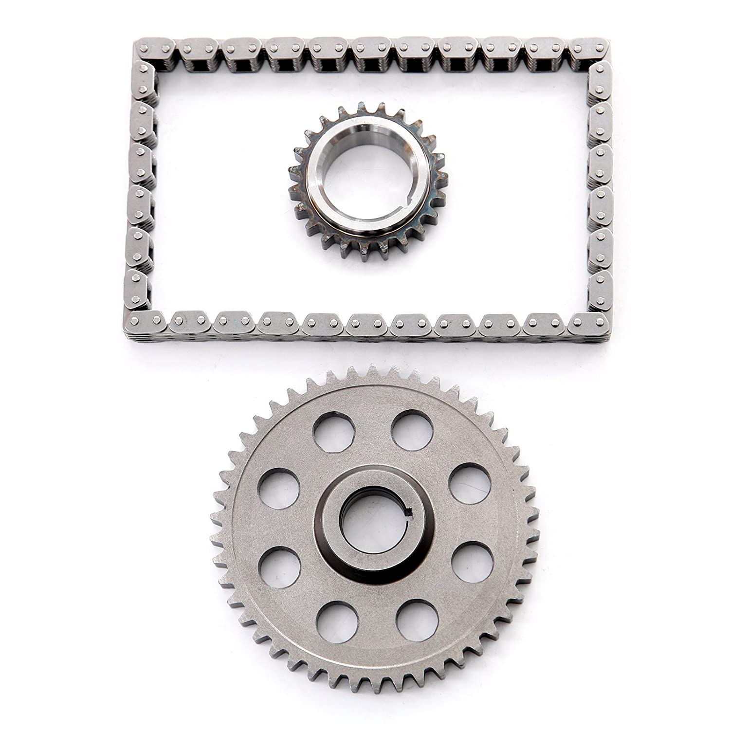 OCPTY Timing Chain Kit Sprockets fits for 90-03 Jeep Grand Cherokee Grand Wagoneer 5.2L 5.9L V8 OHV TK1140