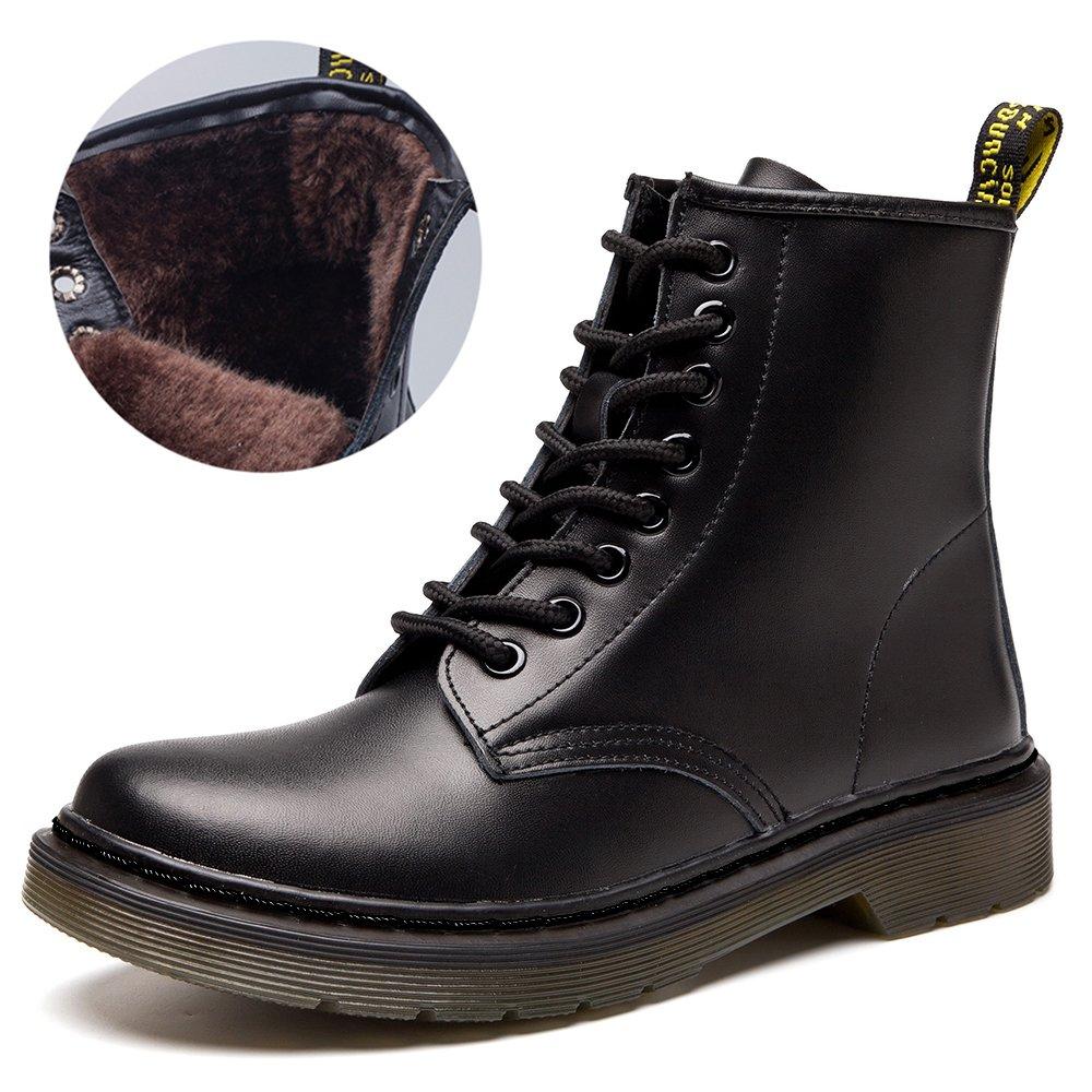 JACKSHIBO レディース B01M24CHWU 7.5 B(M) US|Black Fur Lined Black Fur Lined 7.5 B(M) US