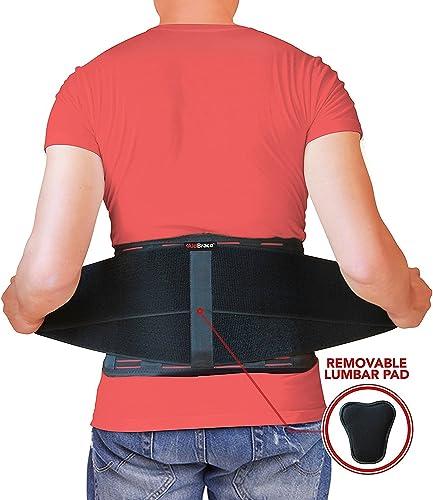 AidBrace Back Brace for Lower Back Pain Relief for Men & Women