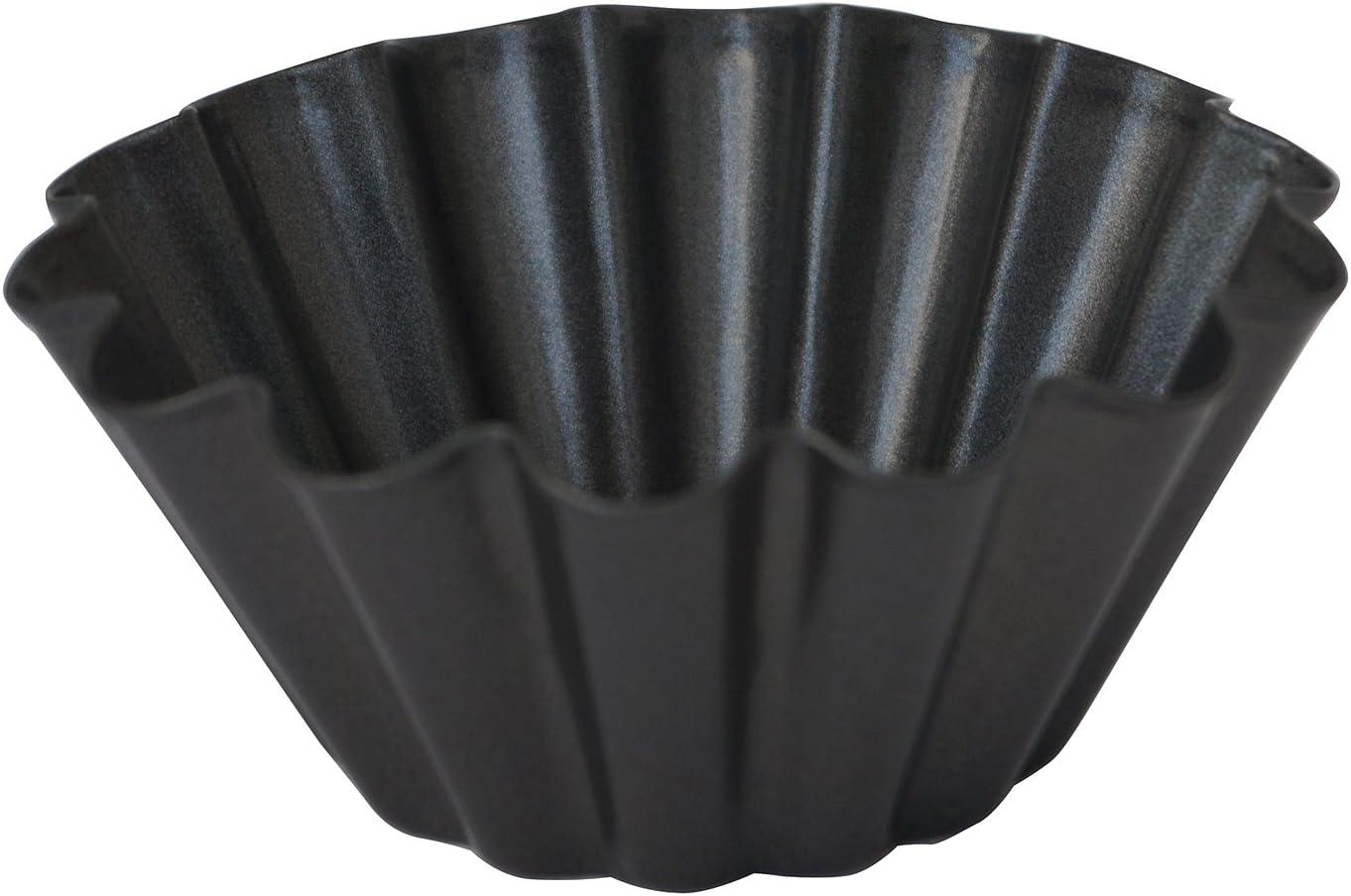 DE BUYER 4702,10 Mini Brioche 10 cm Anti-adherente 14 cm