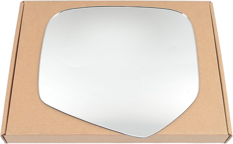 Left Near Passenger Side Stick On Mirror glass #MiL20005-15-LC