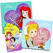 Disney® Princess Board Books (Set of 3 Shaped Board Books) Ariel, Cinderella, Snow White, Belle, Tiana
