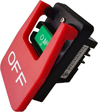 On Off Paddle Switch Start Stop 110//220 3 HP Woodstock D4151