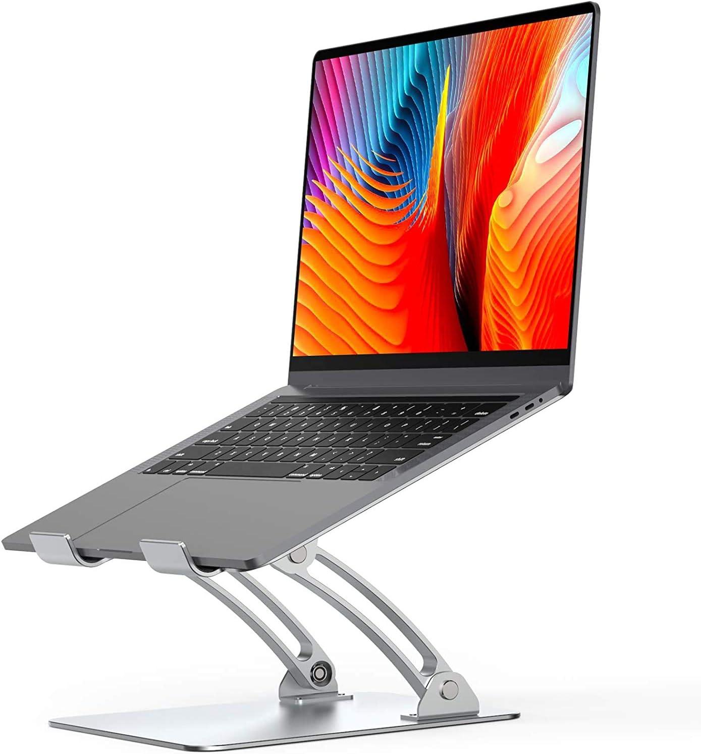 Mxbold Laptop Ständer Höhenverstellbar Macbook Ständer Computer Zubehör
