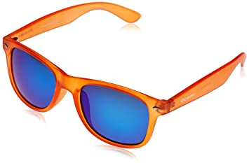 Ocean Sunglasses Beach wayfarer - gafas de sol polarizadas - Montura : Naranja Claro - Lentes