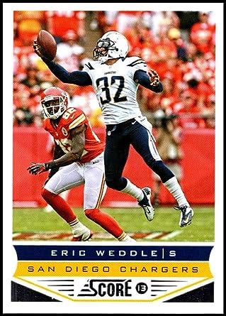 Amazon.com: 2013 Panini Score #185 Eric Weddle NM-MT San Diego ...
