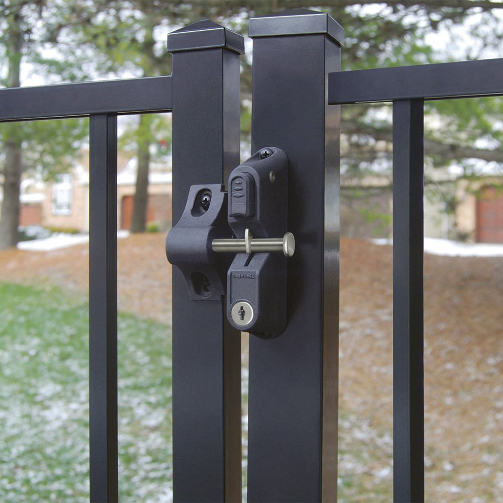 Boerboel Gate Solutions 73024418   GardDog Locking Latch Two Sided    Locking Latch     Amazon.com