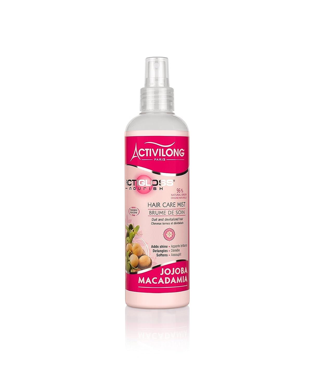 Activilong Actigloss Nourish Brume de Soin Macadamia/Jojoba 250 ml - Lot de 3 005108