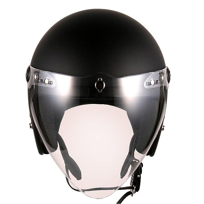 Amazon.com: (F4 Jet, incluye visor protector) Casco ...