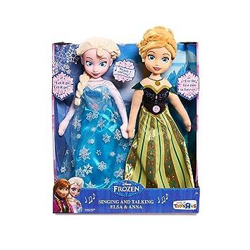 Awe Inspiring Amazon Com Frozen Singing And Talking Elsa And Anna Dolls Toys Short Hairstyles Gunalazisus