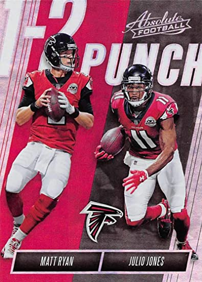 Amazon.com: 2018 PANINI ABSOLUTE ONE TWO PUNCH #5 JULIO ...