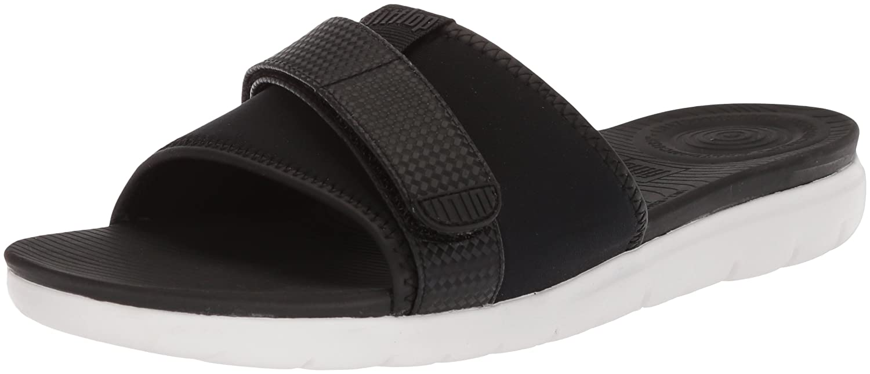 84b8af6dba84 Fitflop Women s Neoflex Slide Sandals Open Toe  Amazon.co.uk  Shoes   Bags