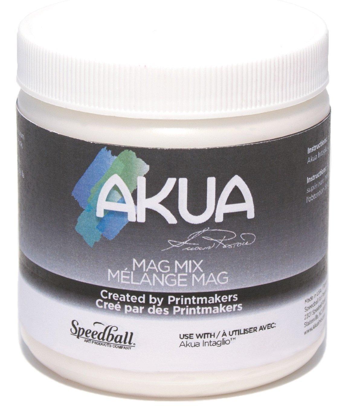 Akua Mag Mix for Intaglio Inks, 8 oz. Bottle (IIAO) by Akua