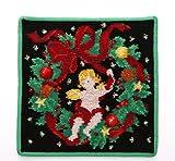 FEILER フェイラー タオルハンカチ Christmas 2016 GREEN クリスマス グリーン [並行輸入品]