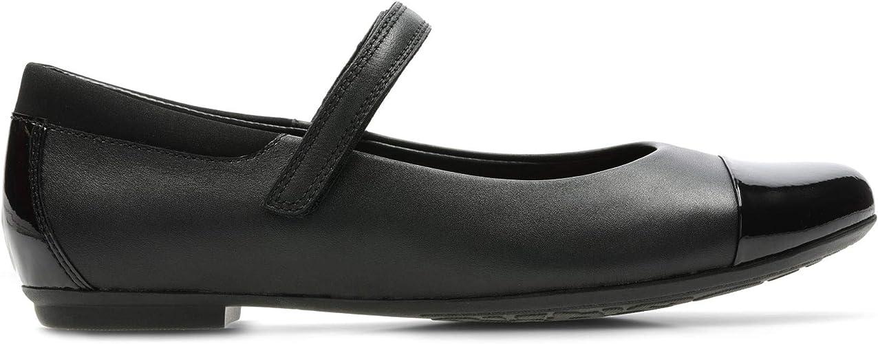 Girls Clarks Mary Jane Style School Shoes Tizz Talk
