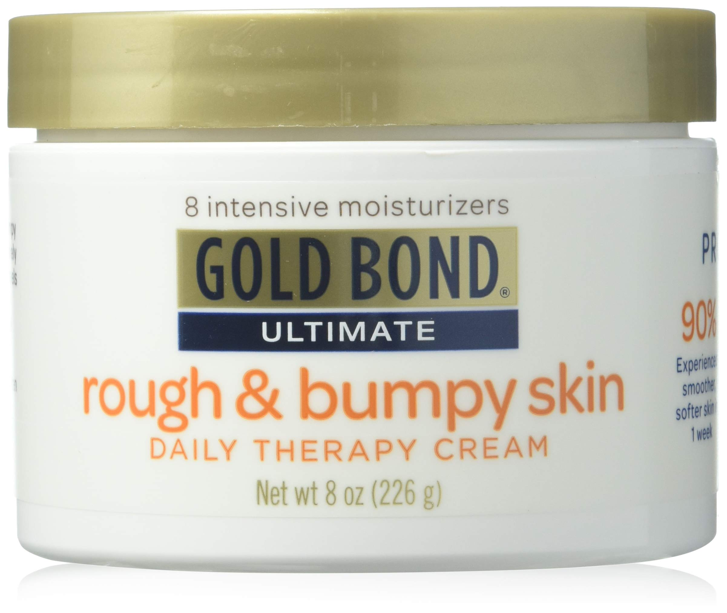 Gold Bond Ultimate Rough and Bumpy Skin Daily Therapy Cream, 8 oz,Pack of 3 by Gold Bond (Image #1)