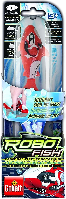 Goliath Toys 32529006  Squalo robot colore Rosso