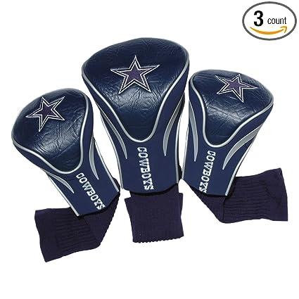 Amazon.com: Dallas Cowboys Golf Club 3 piezas Contorno Golf ...