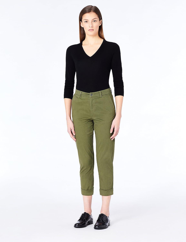 Brand MERAKI Womens Fine Merino Wool V-Neck Jumper