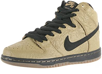 purchase cheap 1bdc7 ceda7 Nike Mens Dunk High Premim SB Brown Paper Bag Filbert/Black-Gum Dark Brown