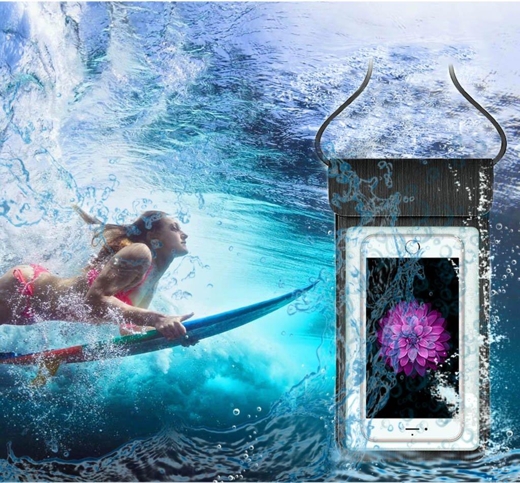 Amazon.com: Waterproof Case, Universal IPX8 Waterproof Phone Pouch Underwater Phone Case Dry Bag for iPhone X/8/8P/7/7P, Samsung Galaxy S9/S9P/S8/S8P/Note 8 ...