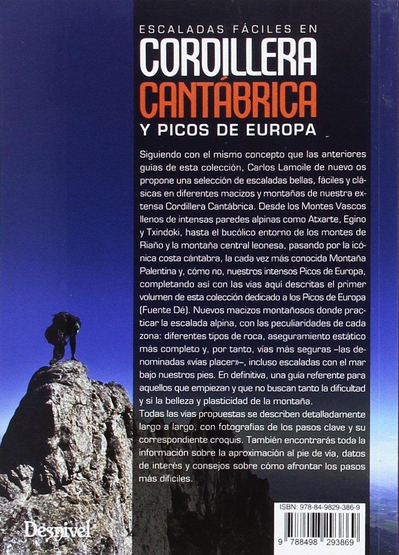 Escaladas fáciles en Cordillera Cantábrica y Picos de Europa ...