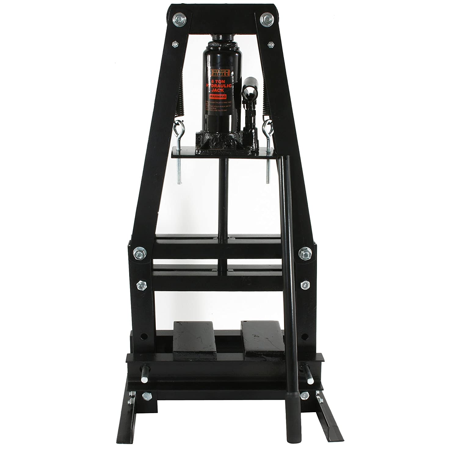 Black Bull PRESSA6T 6 Ton A-Frame Shop Press - Power Magnetic Drill ...