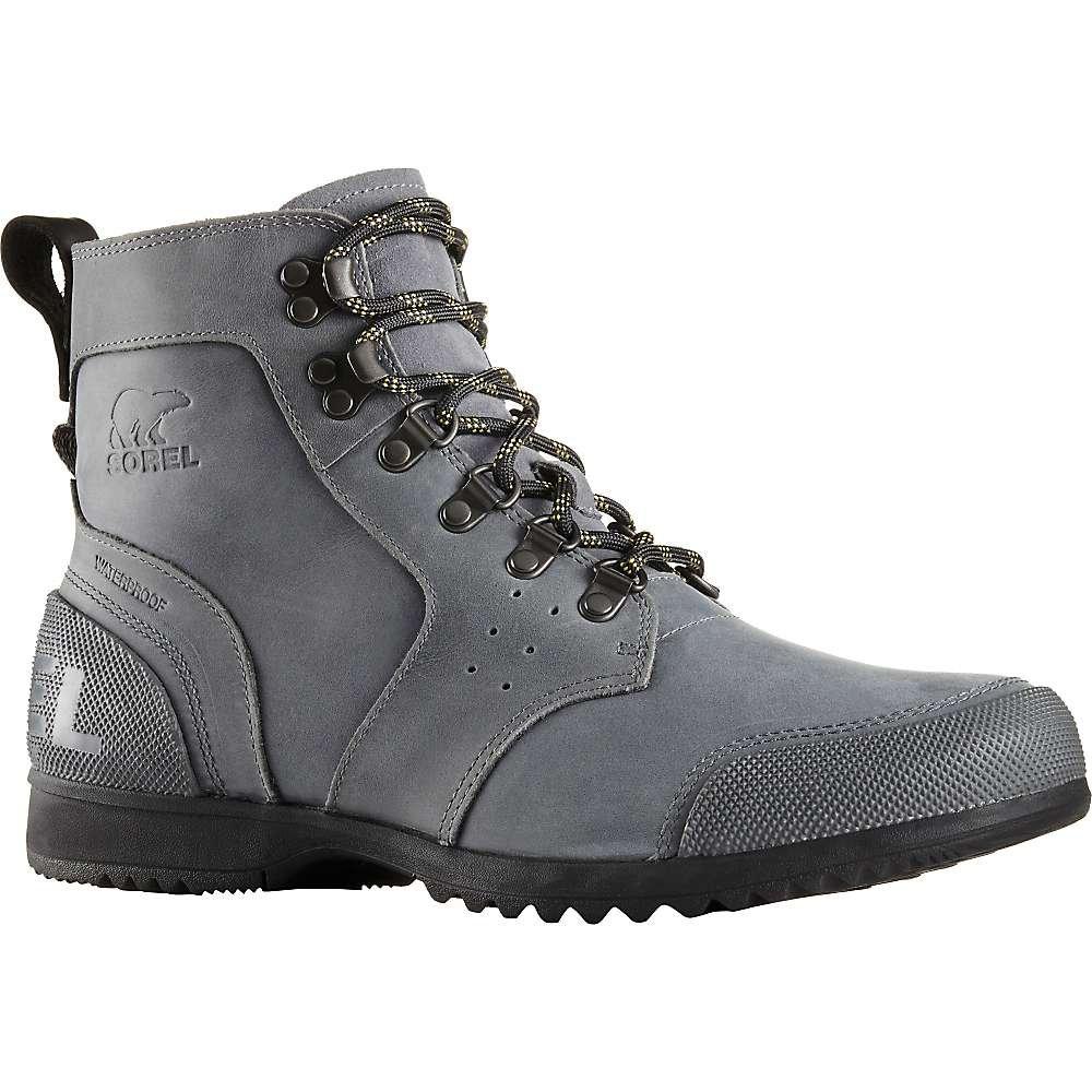 Sorel Ankeny Mid Hiker Boot - Men's City Grey / Shark 10