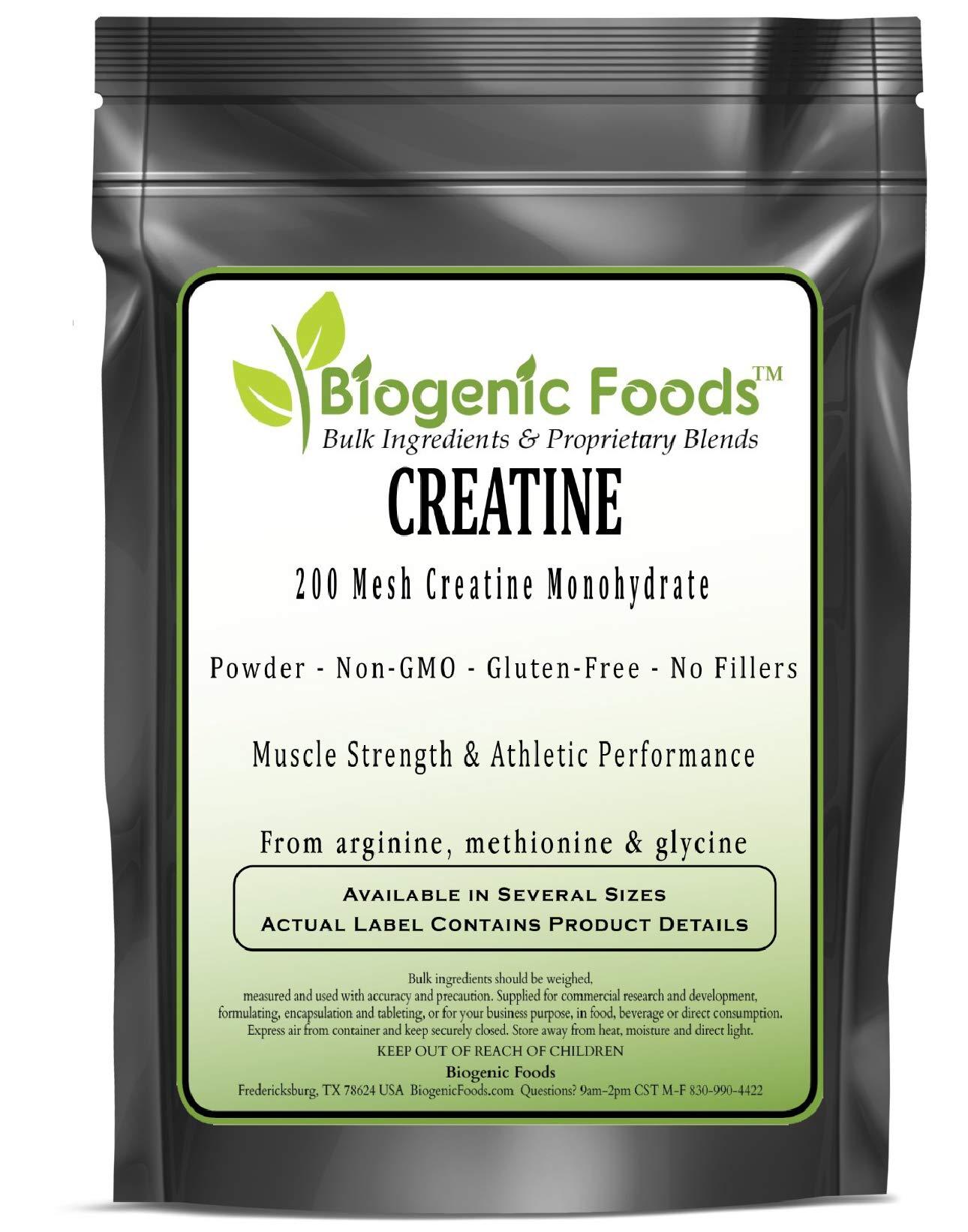 Creatine - 200 Mesh Creatine Monohydrate Powder - from Arginine, Methionine & Glycine, 10 kg