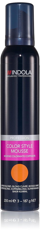 Mousse Colorante Indola Blond Cuivré Schwarzkopf 10401005