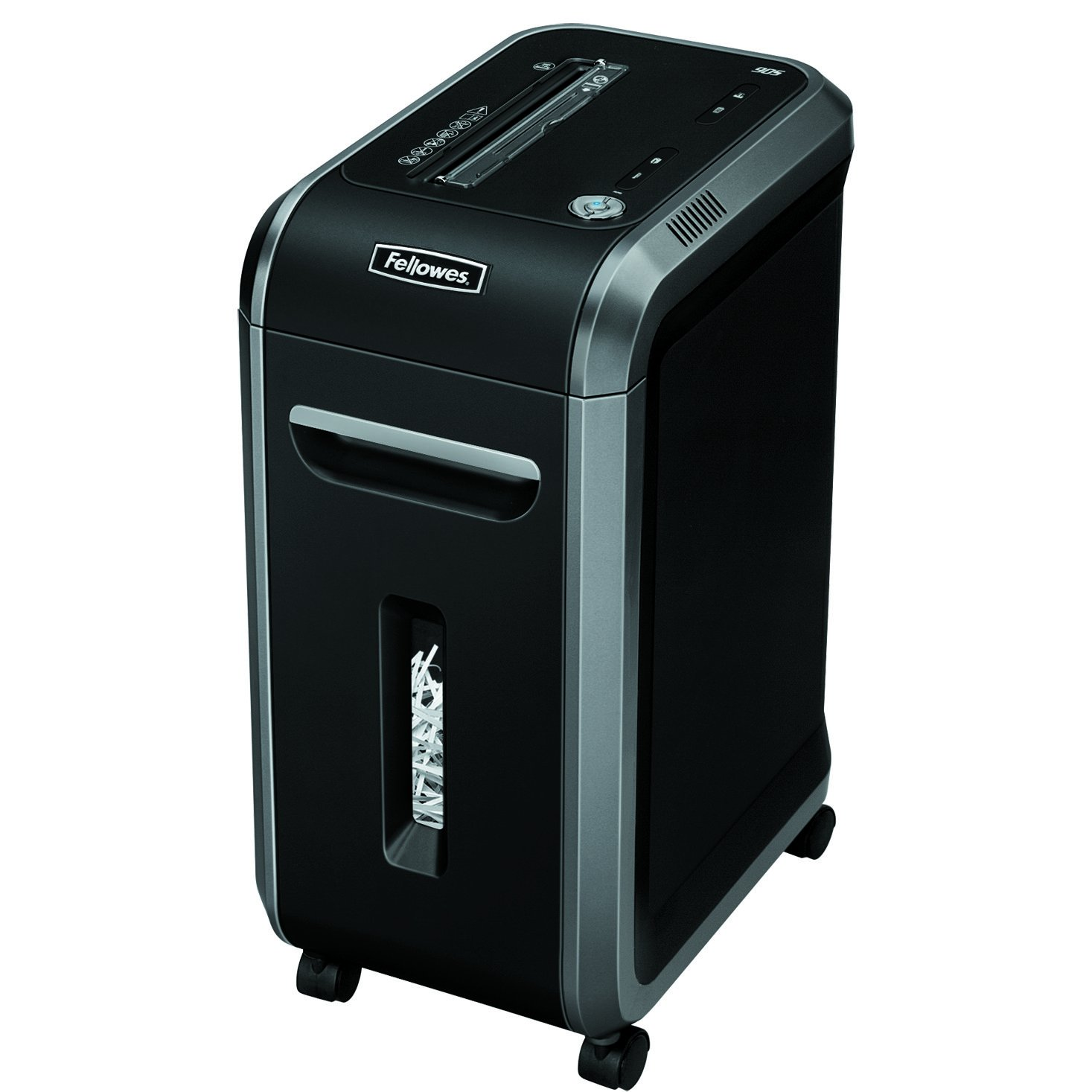 Fellowes Powershred 90S 18-Sheet Strip-Cut Paper and Credit Card Shredder with Auto Reverse (4690001)
