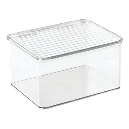 Delicieux InterDesign Kitchen, Pantry, Refrigerator, Freezer Storage Container With  Hinged Lid, 1.5
