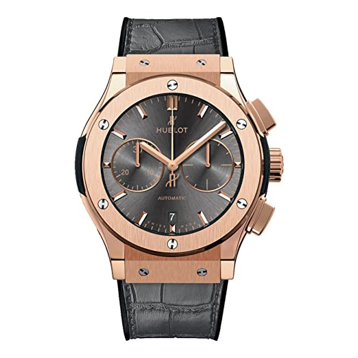 Hublot Mens Classic Fusion Racing gris oro rosa cronógrafo 45 mm Reloj: Hublot: Amazon.es: Relojes