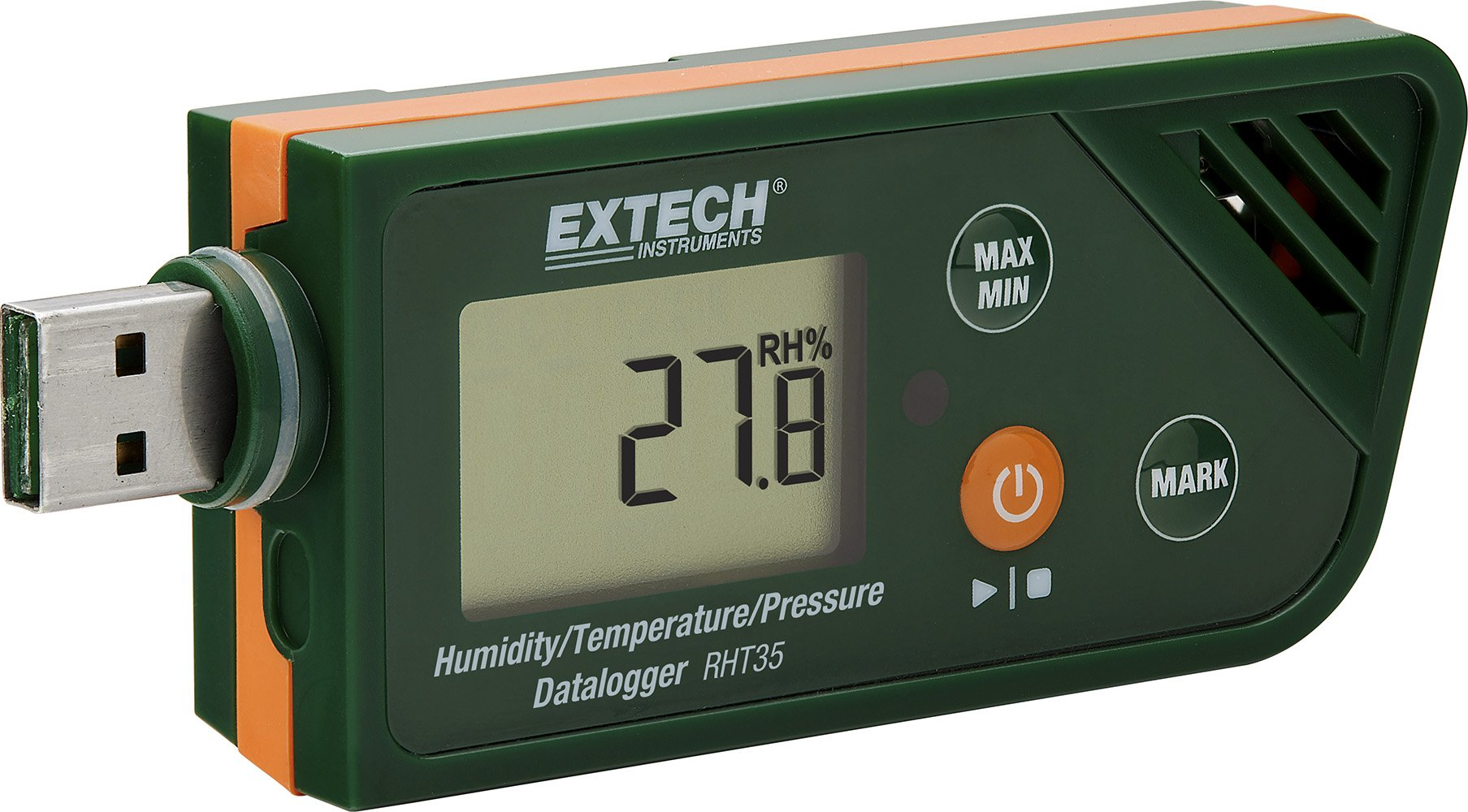 Extech RHT35 USB Humidity, Temperature and Pressure Datalogger by Extech